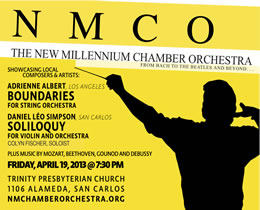 New Millenium CO SPRING CONCERT